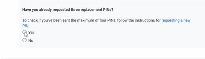 have you received your pin