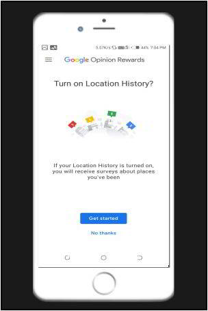 google opinion rewards get started