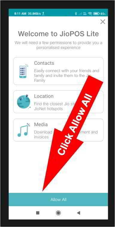 Jio POS Lite App सभी को अनुमति देता है