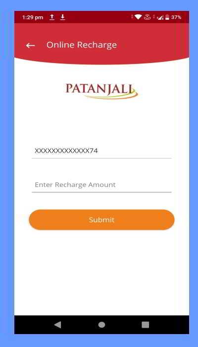 swadeshi samriddhi card app add balance