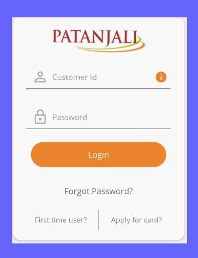 swadeshi samriddhi card app login